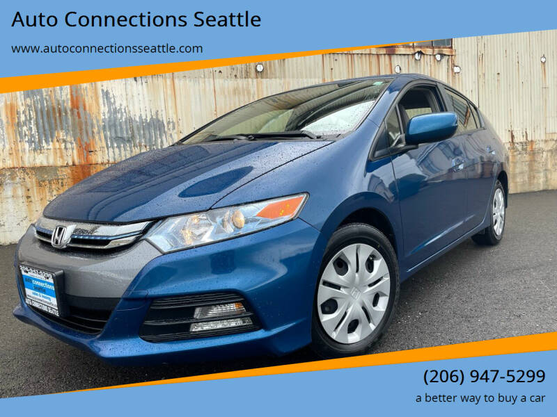 2014 Honda Insight for sale at Auto Connections Seattle in Seattle WA