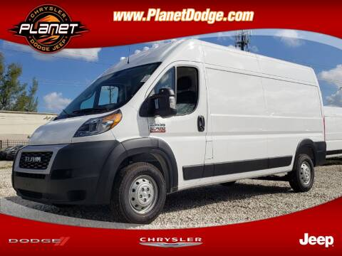 2020 RAM ProMaster Cargo for sale at PLANET DODGE CHRYSLER JEEP in Miami FL