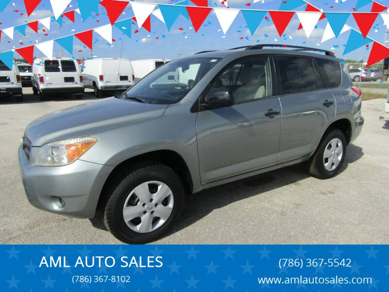 2006 Toyota RAV4 for sale at AML AUTO SALES - Sedans/SUV's in Opa-Locka FL