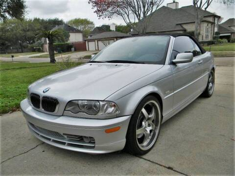 2002 BMW 3 Series for sale at AUTO LIQUIDATORS OF TEXAS in Richmond TX