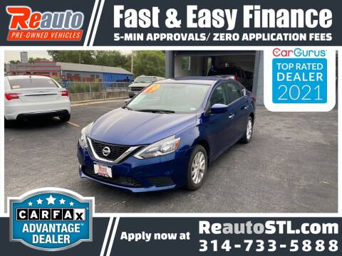 2019 Nissan Sentra for sale at Reauto in Saint Louis MO