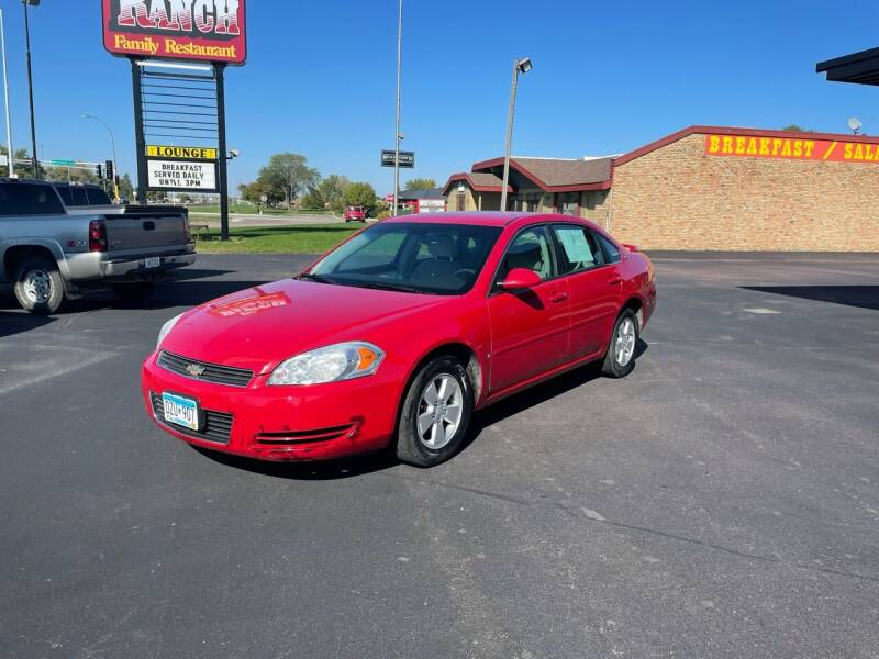 2008 Chevrolet Impala for sale at Welcome Motor Co in Fairmont MN