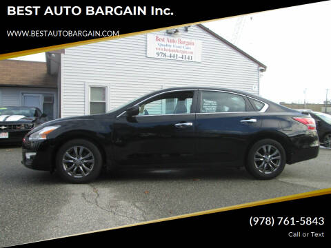 2015 Nissan Altima for sale at BEST AUTO BARGAIN inc. in Lowell MA