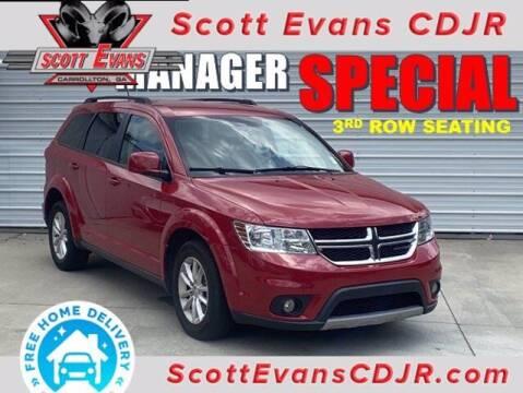 2016 Dodge Journey for sale at SCOTT EVANS CHRYSLER DODGE in Carrollton GA