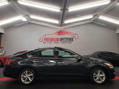 2014 Nissan Altima for sale at Premium Motors in Villa Park IL