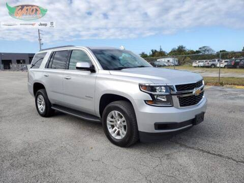 2017 Chevrolet Tahoe for sale at GATOR'S IMPORT SUPERSTORE in Melbourne FL
