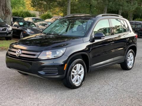 2016 Volkswagen Tiguan for sale at MVP Auto LLC in Alpharetta GA