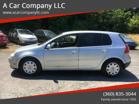 2008 Volkswagen Rabbit for sale at A Car Company LLC in Washougal WA