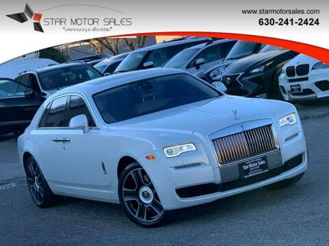 2017 Rolls-Royce Ghost for sale at Star Motor Sales in Downers Grove IL