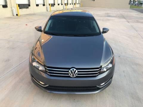 2012 Volkswagen Passat for sale at EUROPEAN AUTO ALLIANCE LLC in Coral Springs FL