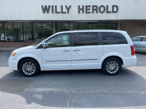 2015 Chrysler Town and Country for sale at Willy Herold Automotive in Columbus GA