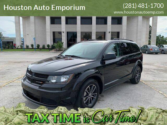 2018 Dodge Journey for sale at Houston Auto Emporium in Houston TX