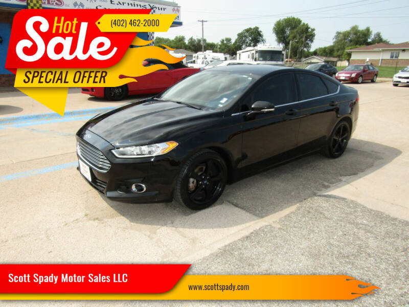 2016 Ford Fusion for sale at Scott Spady Motor Sales LLC in Hastings NE