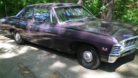 1967 Chevrolet Biscayne for sale at Classic Car Deals in Cadillac MI
