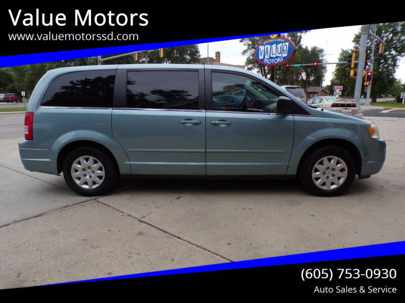 2009 Chrysler Town and Country for sale at Value Motors in Watertown SD