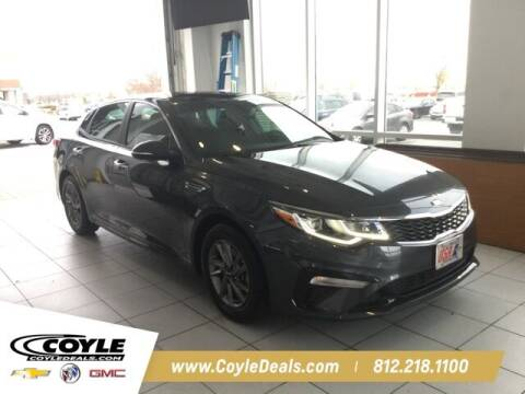 2020 Kia Optima for sale at COYLE GM - COYLE NISSAN in Clarksville IN