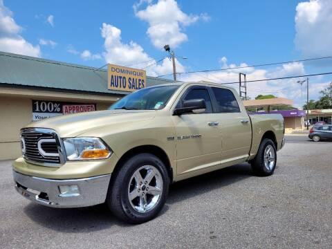 2011 RAM Ram Pickup 1500 for sale at Dominique Auto Sales in Opelousas LA