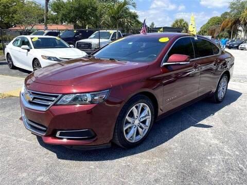 2017 Chevrolet Impala for sale at EZ Own Car Sales of Miami in Miami FL
