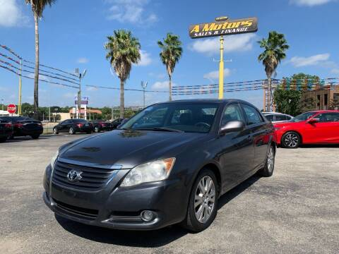 2008 Toyota Avalon for sale at A MOTORS SALES AND FINANCE - 5630 San Pedro Ave in San Antonio TX