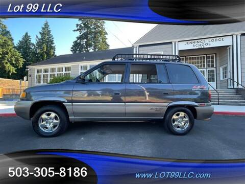 1998 Mazda MPV for sale at LOT 99 LLC in Milwaukie OR