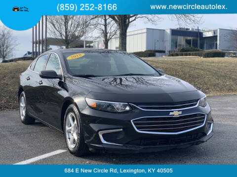 2018 Chevrolet Malibu for sale at New Circle Auto Sales LLC in Lexington KY