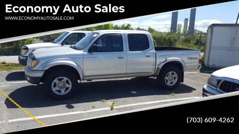 2001 Toyota Tacoma for sale at Economy Auto Sales in Dumfries VA