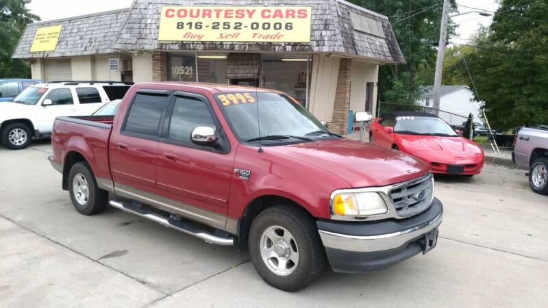 2002 Ford F-150 for sale at Courtesy Cars in Independence MO