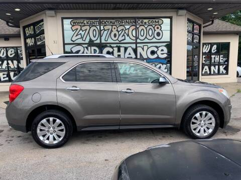 2010 Chevrolet Equinox for sale at Kentucky Auto Sales & Finance in Bowling Green KY
