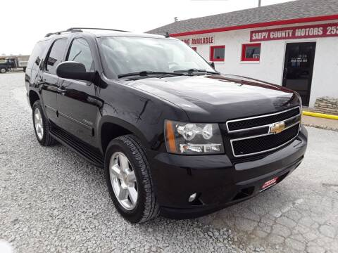 2010 Chevrolet Tahoe for sale at Sarpy County Motors in Springfield NE