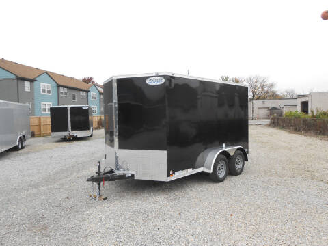 2021 Continental Cargo V-Series 7x12 for sale at Jerry Moody Auto Mart - Trailers in Jeffersontown KY
