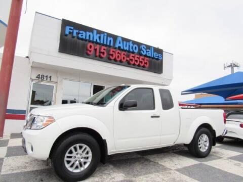 2017 Nissan Frontier for sale at Franklin Auto Sales in El Paso TX