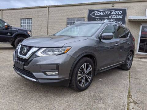 2017 Nissan Rogue for sale at Quality Auto of Collins in Collins MS