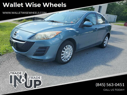 2010 Mazda MAZDA3 for sale at Wallet Wise Wheels in Montgomery NY