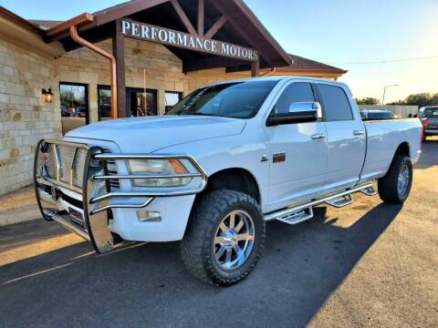2010 Dodge Ram Pickup 2500 for sale at Performance Motors Killeen Second Chance in Killeen TX