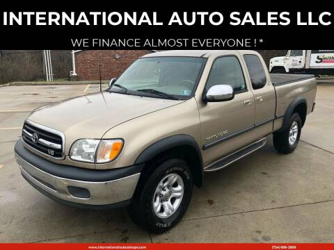 2001 Toyota Tundra for sale at INTERNATIONAL AUTO SALES LLC in Latrobe PA
