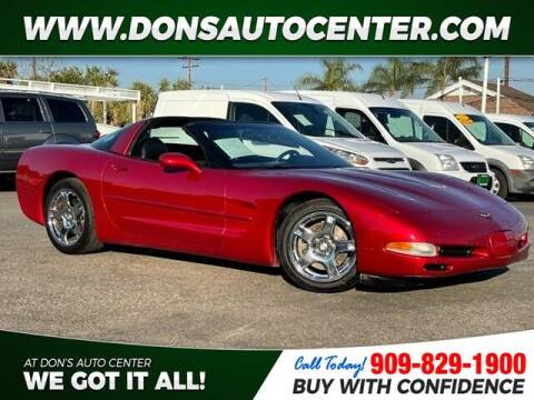 1999 Chevrolet Corvette for sale at Dons Auto Center in Fontana CA