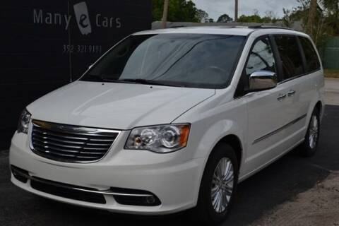 2013 Chrysler Town and Country for sale at ManyEcars.com in Mount Dora FL