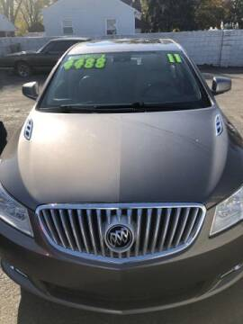 2011 Buick LaCrosse for sale at Al's Linc Merc Inc. in Garden City MI