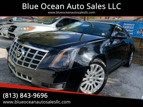 2014 Cadillac CTS for sale at Blue Ocean Auto Sales LLC in Tampa FL