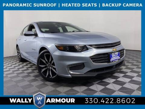 2018 Chevrolet Malibu for sale at Wally Armour Chrysler Dodge Jeep Ram in Alliance OH