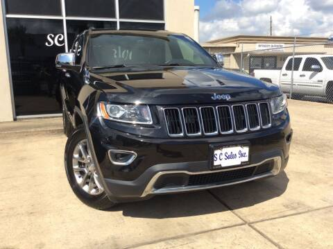 2014 Jeep Grand Cherokee for sale at SC SALES INC in Houston TX