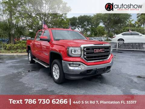2017 GMC Sierra 1500 for sale at AUTOSHOW SALES & SERVICE in Plantation FL