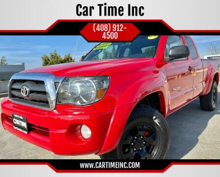 2006 Toyota Tacoma for sale at Car Time Inc in San Jose CA