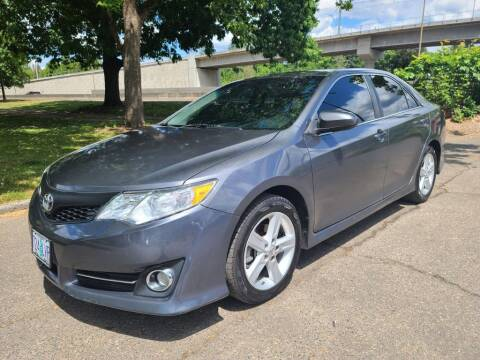 2013 Toyota Camry for sale at EXECUTIVE AUTOSPORT in Portland OR