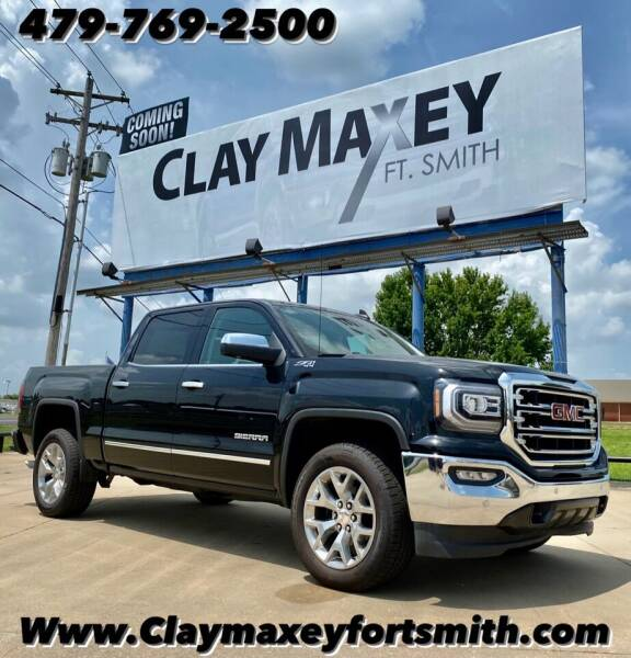 2018 GMC Sierra 1500 for sale at Clay Maxey NWA in Springdale AR