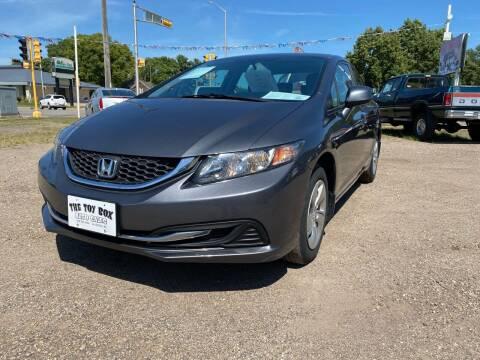2013 Honda Civic for sale at Toy Box Auto Sales LLC in La Crosse WI