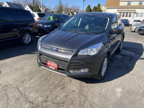 2016 Ford Escape for sale at CLASSIC MOTOR CARS in West Allis WI