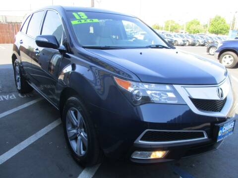 2013 Acura MDX for sale at Choice Auto & Truck in Sacramento CA