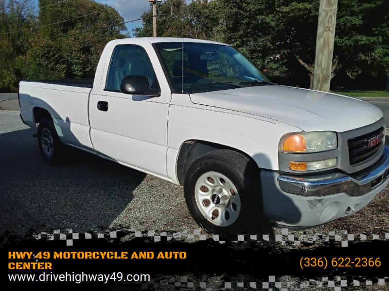 2006 GMC Sierra 1500 for sale at HWY 49 MOTORCYCLE AND AUTO CENTER in Liberty NC