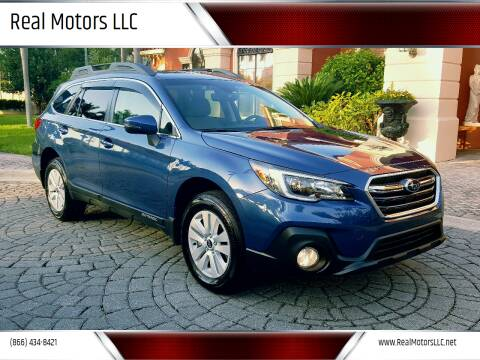 2019 Subaru Outback for sale at Real Motors LLC in Clearwater FL
